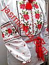 Украинская вышиванка для девочки цветок, фото 3