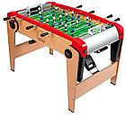 Деревянный полупрофессиональный футбольный стол Power Play 4 в 1 Smoby 640001 настольный футбол, фото 3
