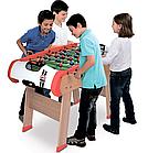 Деревянный полупрофессиональный футбольный стол Power Play 4 в 1 Smoby 640001 настольный футбол, фото 5
