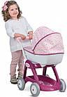 Детская коляска для кукол Прованс Классик Smoby Baby Nurse 251103 люлька с корзиной, фото 3