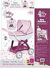 Детская коляска для кукол Прованс Классик Smoby Baby Nurse 251103 люлька с корзиной, фото 4