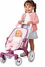 Детская коляска для кукол Прованс Прогулка Smoby Baby Nurse 251203 с поворотными колесами, фото 2