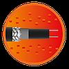 Секція саморегульованого кабелю e-HeatGutter - 6м