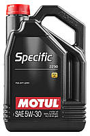Масло моторное Motul SPECIFIC 2290 5W30 (5L)