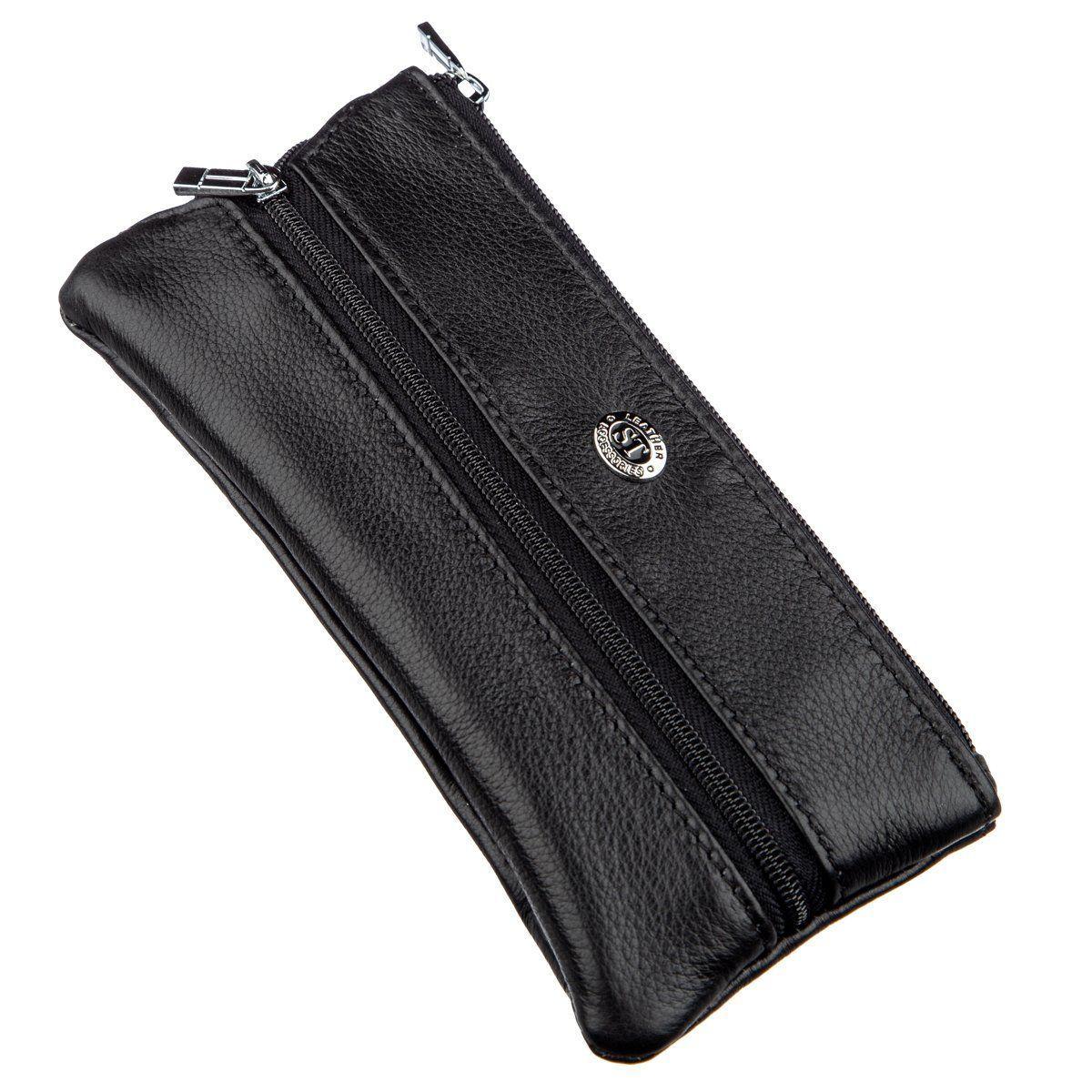 Мужская компактная ключница ST Leather 18838 Черный