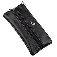 Мужская компактная ключница ST Leather 18838 Черный, фото 1