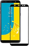 Защитное стекло Lion для Samsung Galaxy J8 2018 (J810) 3D Perfect Protection Full Glue, Black