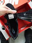 Мужские кроссовки Nike Zoom (черные) 306PL, фото 2