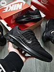 Мужские кроссовки Nike Zoom (черные) 306PL, фото 4