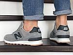 Мужские кроссовки New Balance 574 (светло-серые) 8980, фото 3