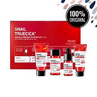 Набор из 4 восстанавливающих средств для проблемной кожи SOME BY MI Snail Truecica Miracle Repair Starter Kit