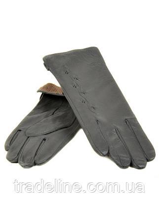 PODIUM Перчатка Женская кожа (Ш) F23 мод6 сер st33 Распродажа, фото 2