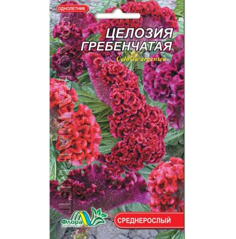 Целозия гребенчатая цветы однолетние, семена 0.15 г