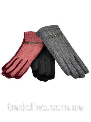 PODIUM Перчатка Женская стрейч F19/17 мод2 color mix плюш Распродажа, фото 2