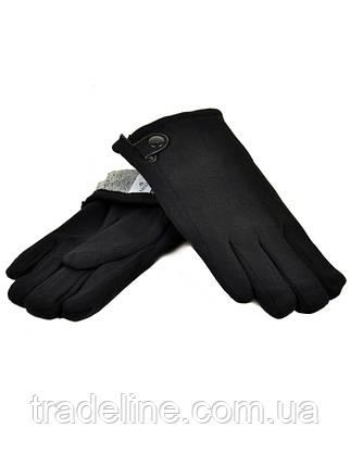 PODIUM Перчатка Мужская стрейч M1/17 мод5 black махра Распродажа, фото 2