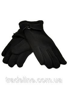PODIUM Перчатка Подростковая стрейч D2 ПЛ мод-1 black (мальчик) Распродажа