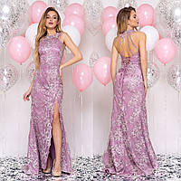 """Ніжне фрезовое сукні годе зі шлейфом вечірнє, випускне """"Ріанна"""", фото 1"""