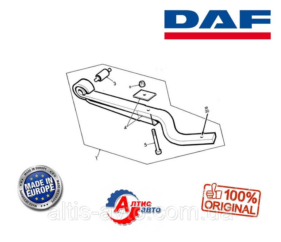 Задня підлозі-ресора DAF 45 для вантажівок WAK2853, AFRC125