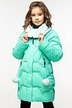 Детский зимний  пуховик для девочки Шелли рост 116 - 158 , Nui very Украина, фото 3