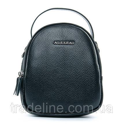 Сумка Жіноча Клатч шкіра ALEX RAI 1-02 3902-1 black, фото 2