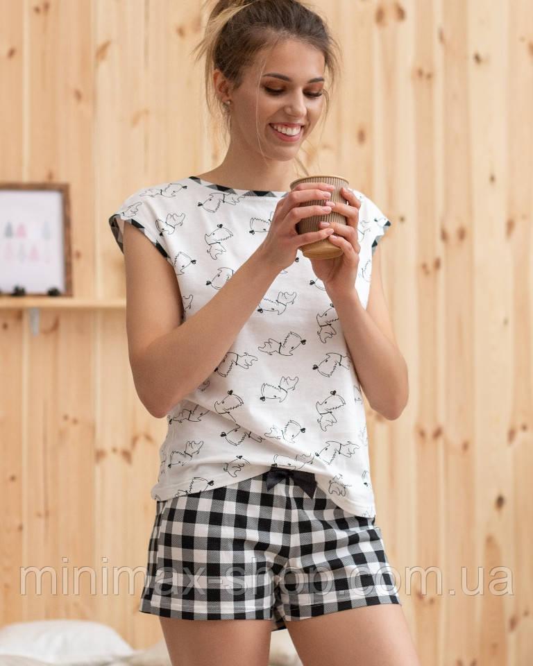 Пижама женская летняя Шорты  LSH01001 Naviale