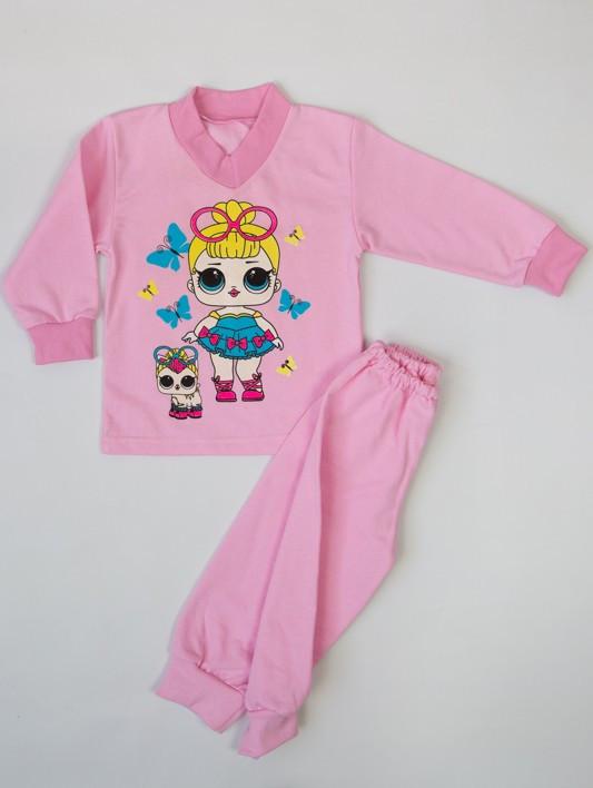 Пижама для девочек (начес) разные цвета и рисунки
