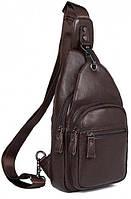Рюкзак мужской Vintage 14647 кожаный Коричневый, фото 1