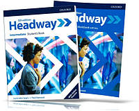 Headway Intermediate 5th edition, Student's + Workbook / Учебник + Тетрадь (комплект) английского языка