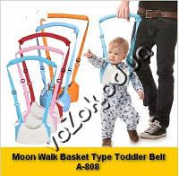 Детский поводок вожжи ходунки Moon Walk Basket Type Toddler Belt A-808