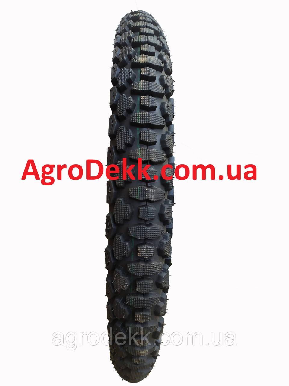 Покрышка 3.25-18 шипованная c камерой для мотоциклов Ява, Минск, Viper 150 сс