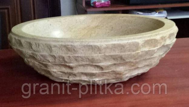 Рукомойник из натурального камня, каменные раковины,мойки накладные для кафе и ресторанов