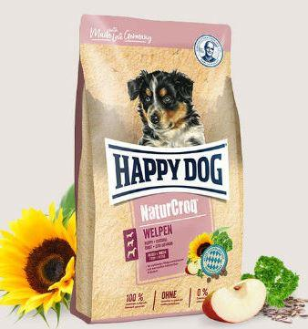 Сухой корм HAPPY DOG NaturCroq Welpen для щенков всех пород, 4 кг