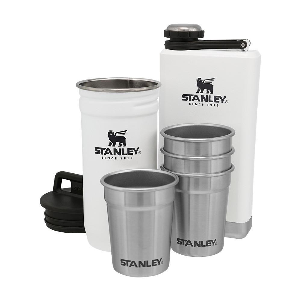 Набор Stanley Adventure (1 фляга, 1 футляр 0.236 л и 4 рюмки) Polar