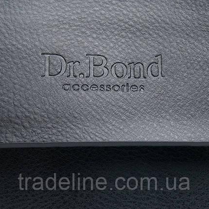 Сумка Чоловіча Планшет позов-шкіра DR. BOND GL 318-1 black, фото 2