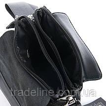 Сумка Чоловіча Планшет позов-шкіра DR. BOND GL 318-1 black, фото 3