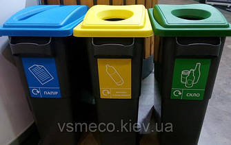 Контейнери для сортування сміття