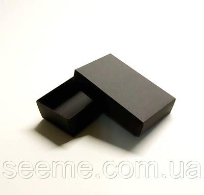Коробка подарункова, 120x70x35 мм, колір чорний