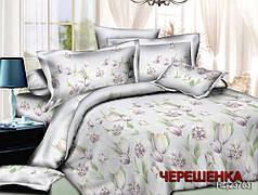 Евро макси набор постельного белья 200*220 из Ранфорса №1823763 Черешенка™