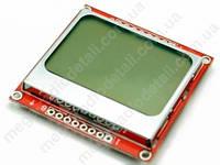 LCD дисплей Nokia 5110 84x48 8 Bit