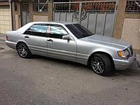 Дефлекторы окон (ветровики) Mercedes Benz S-klasse (W140) Sd 1990-1998, фото 1
