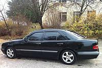 Дефлекторы окон (ветровики) Mercedes Benz E-klasse Sd (W210) 1995-2002