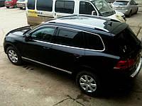 Дефлекторы окон (ветровики) Volkswagen Touareg II 2010 , фото 1