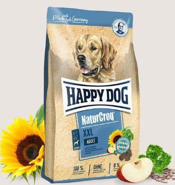 Сухой корм HAPPY DOG NaturCroq XXL  для взрослых собак крупных пород, 15кг