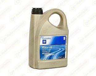 Моторное масло GM SAE 5W30 GM Dexos2 Longlife (4 Liter)