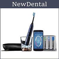 Звукова зубна щітка Philips Sonicare DiamondClean Smart Black HX9924 / 17/ Звуковая зубная щетка Philips Sonic