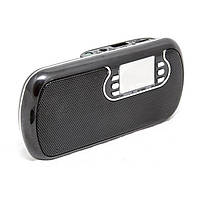 Портативная активная колонка Atlanfa AT-6526 AUX Мр3 USB MicroSD Выход mini jack 3,5 Li-ion аккумулятор+LED