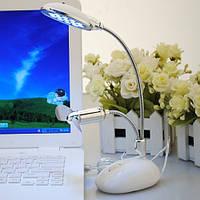 USB-светильник на стойке + вентилятор, 2 в 1
