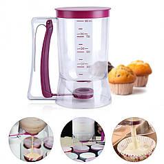 Диспенсер дозатор Batter Dispenser YL-097 (900 mL) для жидкого теста крема выпечки кухонный