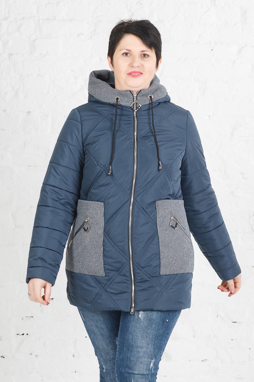 Куртка Петра цвет бирюза