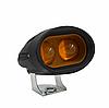 Фара дальнього світла ETC 4D 20Вт, 12 В, 5000К, робоче світло, протитуманка, жовте світло, spot